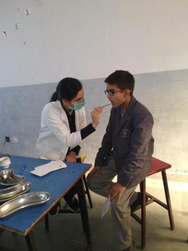 Oral Health Care at Elite International School, Jhajjar