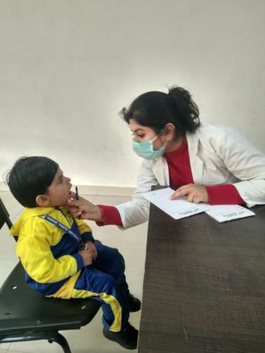 Oral Health Care at Scholars Global School, Bahadurgarh