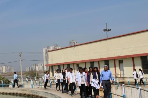 Field Visit to Water Treatment Plant
