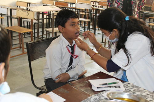 oral health screening camp-1